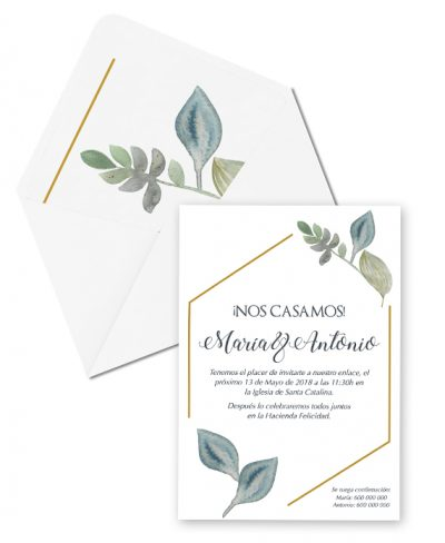 INVITACIÓN CHIC