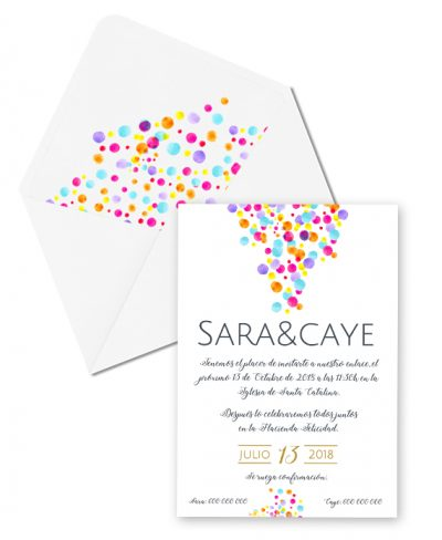 INVITACIÓN COLORFUL