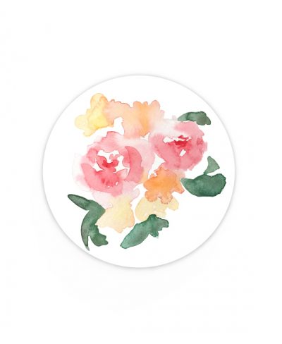 pegatina bouquet